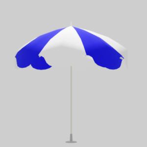 ビーチパラソル青