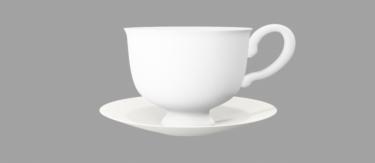 コーヒーカップとソーサ
