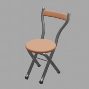 丸パイプ椅子