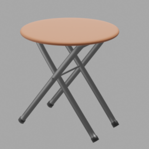 丸パイプテーブル