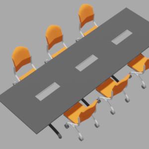 ミーテングテーブルセット