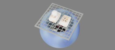 焼き餅と火鉢