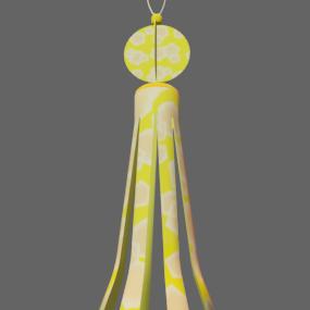 吹き流し黄色