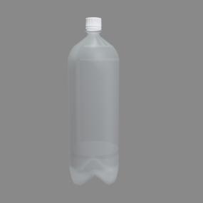1.5ℓの空のペットボトル