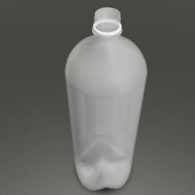 1.5ℓのフタがない空のペットボトル