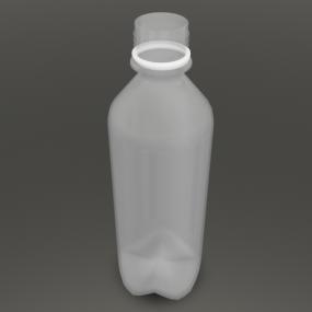 500mlのフタがない空のペットボトル