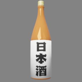 日本酒 茶色ビン