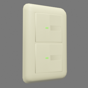 新しい電気スイッチ