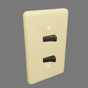 古い電気スイッチ