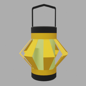 紙提灯黄色