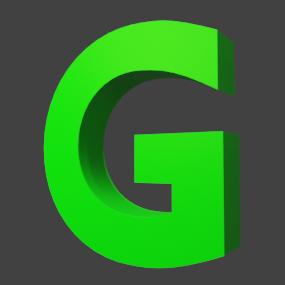アルファベット「G」
