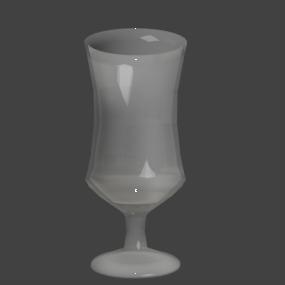 くびれたグラス