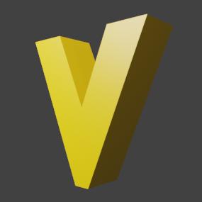 アルファベット「v」