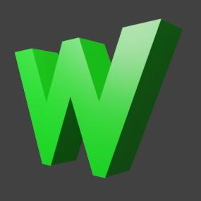 アルファベット「w」