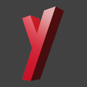 アルファベット「y」