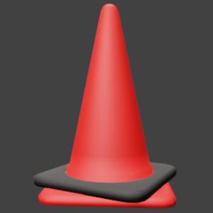 三角コーン